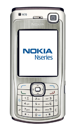 Nokia N70 camera phone launched megapixel vga camera