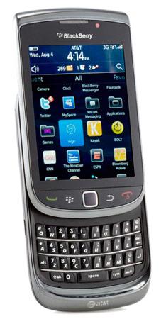 blackberry torch 9800 open
