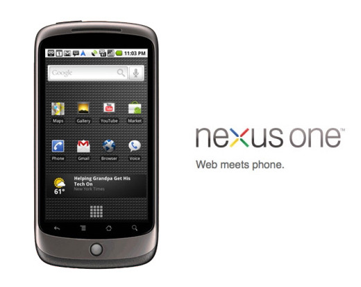 google nexus one smart phone