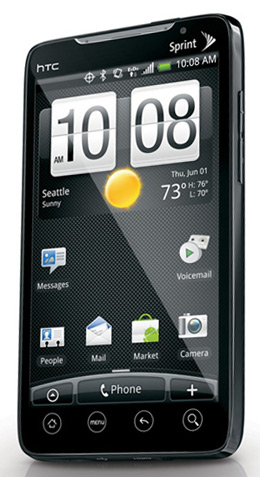 htc evo 4g sprint