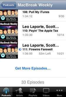 iphone 2-2 podcasts-download