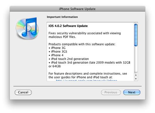 iphone 4.0.2 update jailbreak