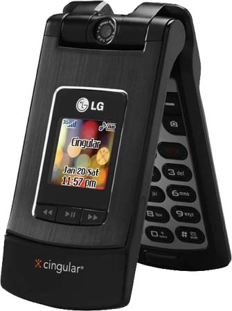 Cingular officially unveiled the LG CU500
