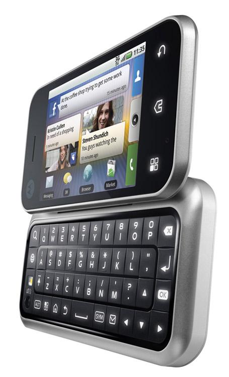motorola backflip android open