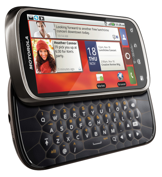 motorola cliq 2 android open