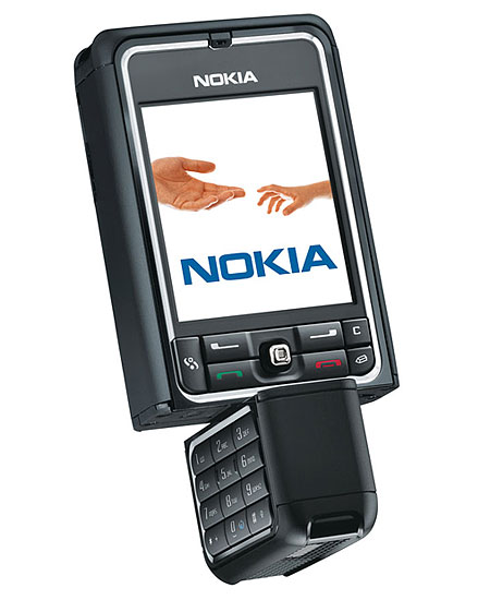 Nokia 3250 rotate camera music phone tri-band