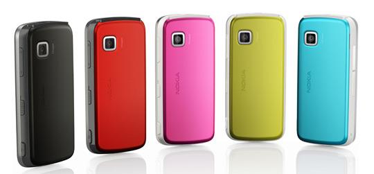 nokia 5230 nuron colors