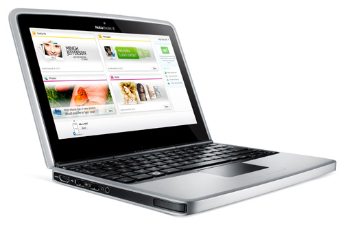nokia booklet 3g front