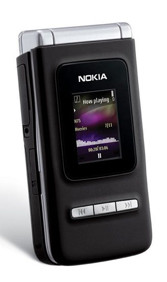 nokia n75 front nseries