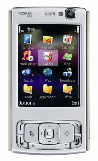 nokia n95 closed nseries