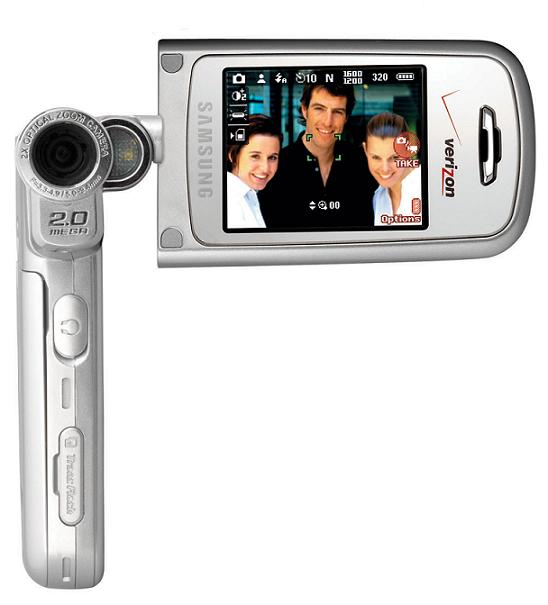 samsung a970 camera phone announced by verizon wireless megapixel digital