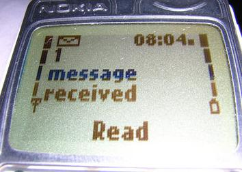 sms self destruct in 40 seconds after being read
