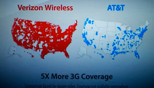 verizon att 3g coverage