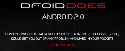 verizon droid 2.0