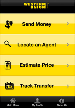 western union iphone app