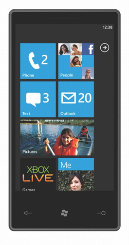 windows phone 7 home