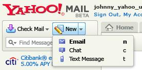 yahoo free sms messages