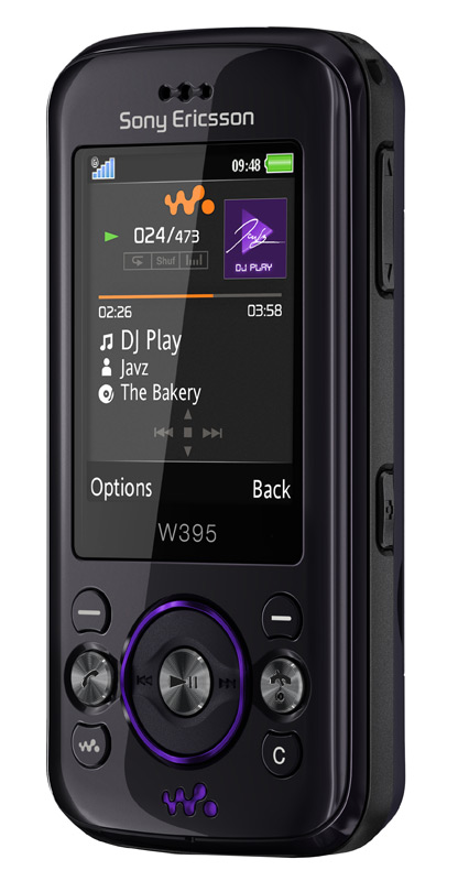 Sony Ericsson W395